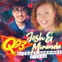 MORNING Q CREW-JOSH & MIRANDA